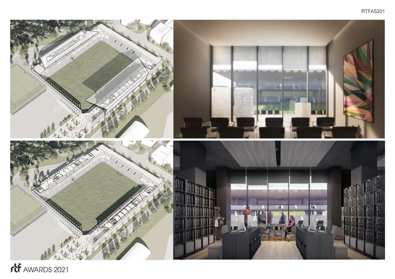 Baglum Culture and Sports Complex By Motto Architecture - Sheet5