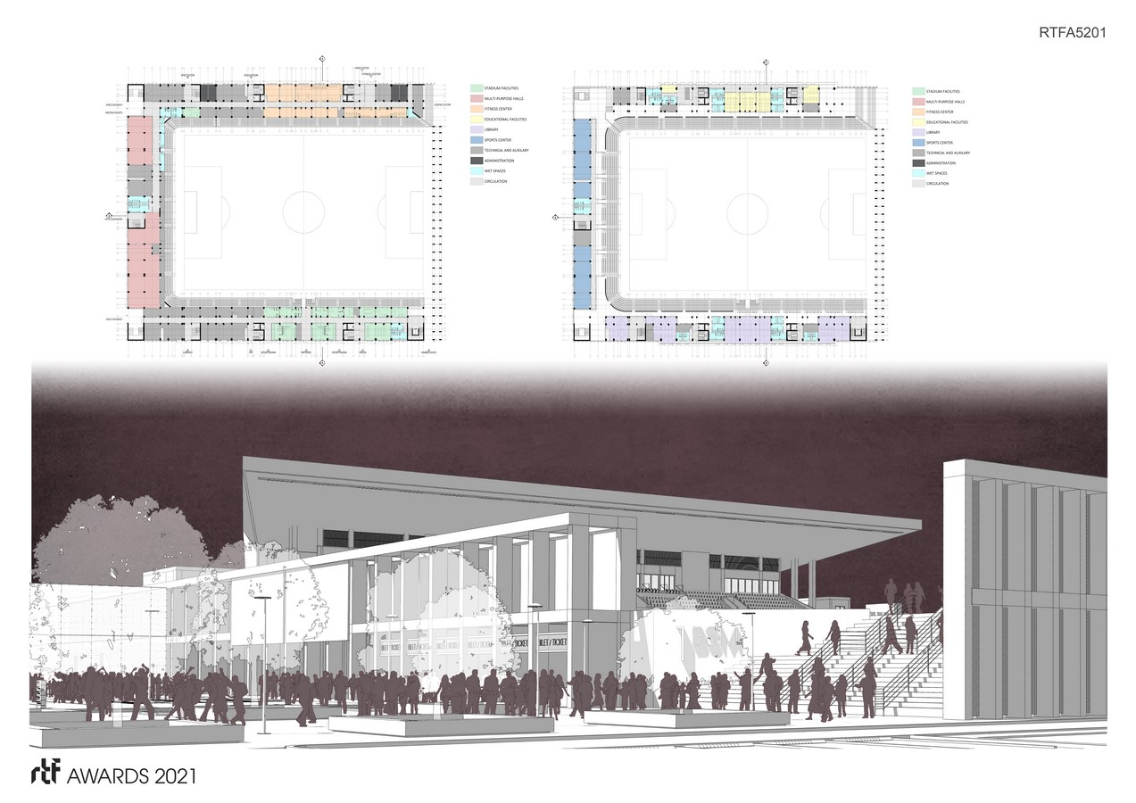Baglum Culture and Sports Complex By Motto Architecture - Sheet6