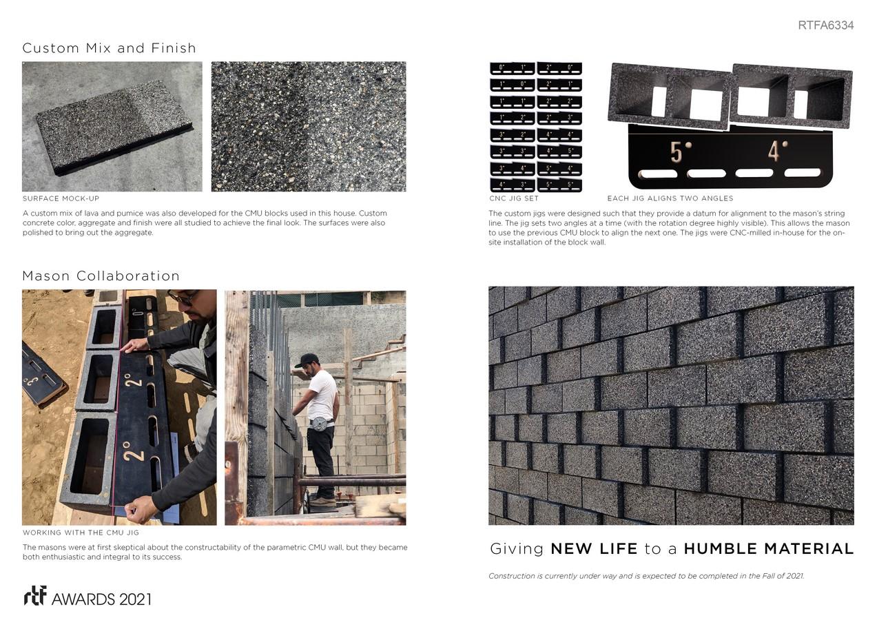 Baxter Parametric CMU Wall By Ehrlich Yanai Rhee Chaney Architects - Sheet6