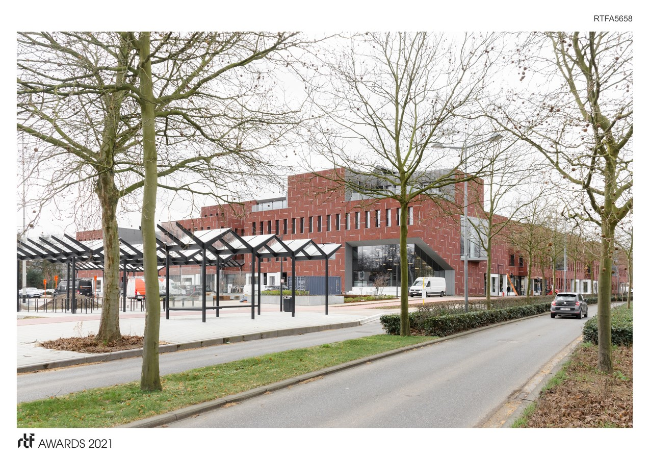 Beveren police station and civic center By ORG - Organization for Permanent Modernity - Sheet1