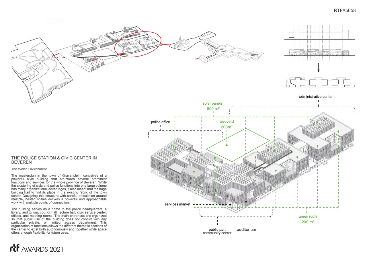 Beveren police station and civic center By ORG - Organization for Permanent Modernity - Sheet2
