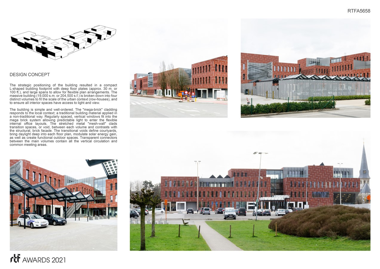 Beveren police station and civic center By ORG - Organization for Permanent Modernity - Sheet3