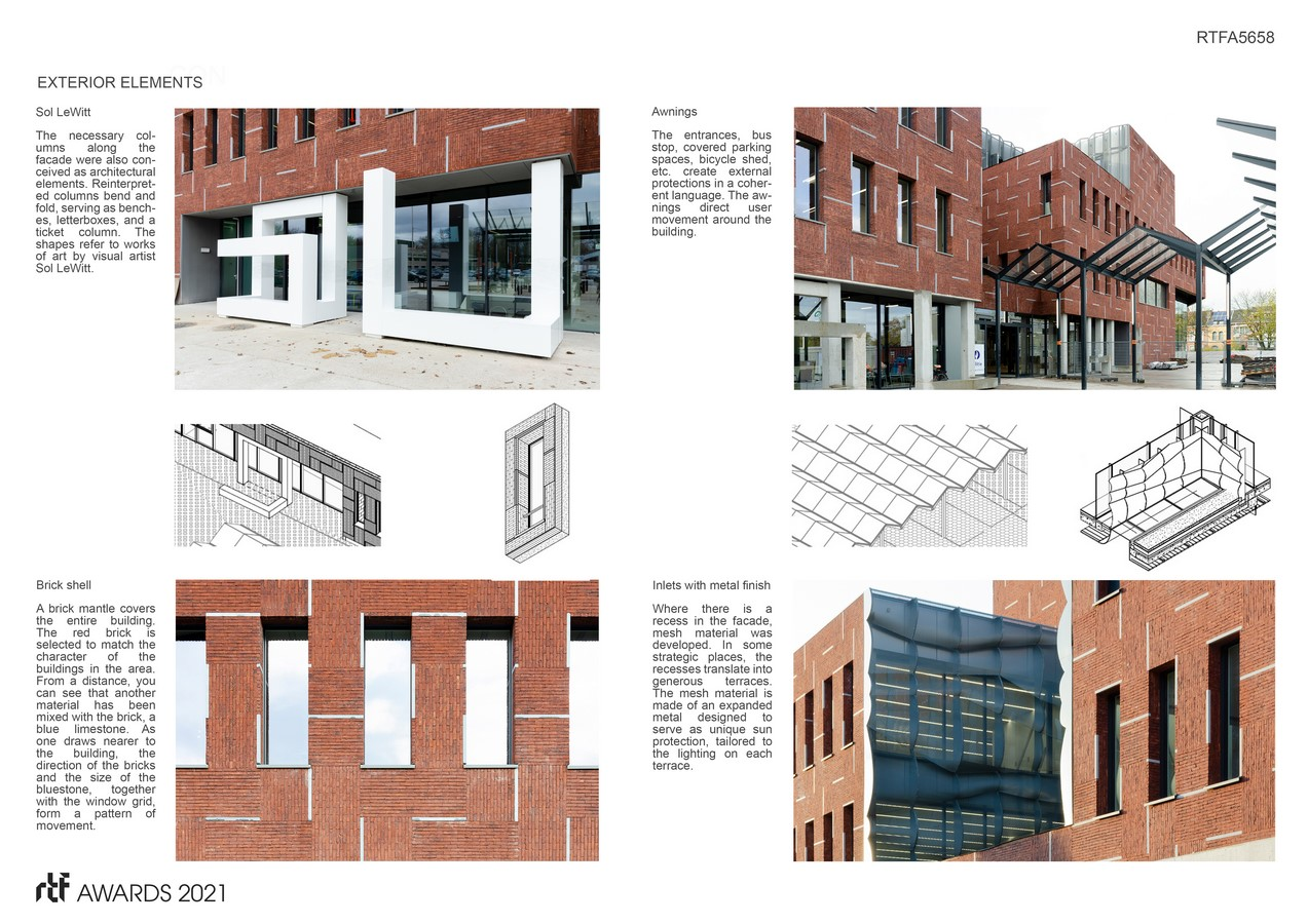 Beveren police station and civic center By ORG - Organization for Permanent Modernity - Sheet6