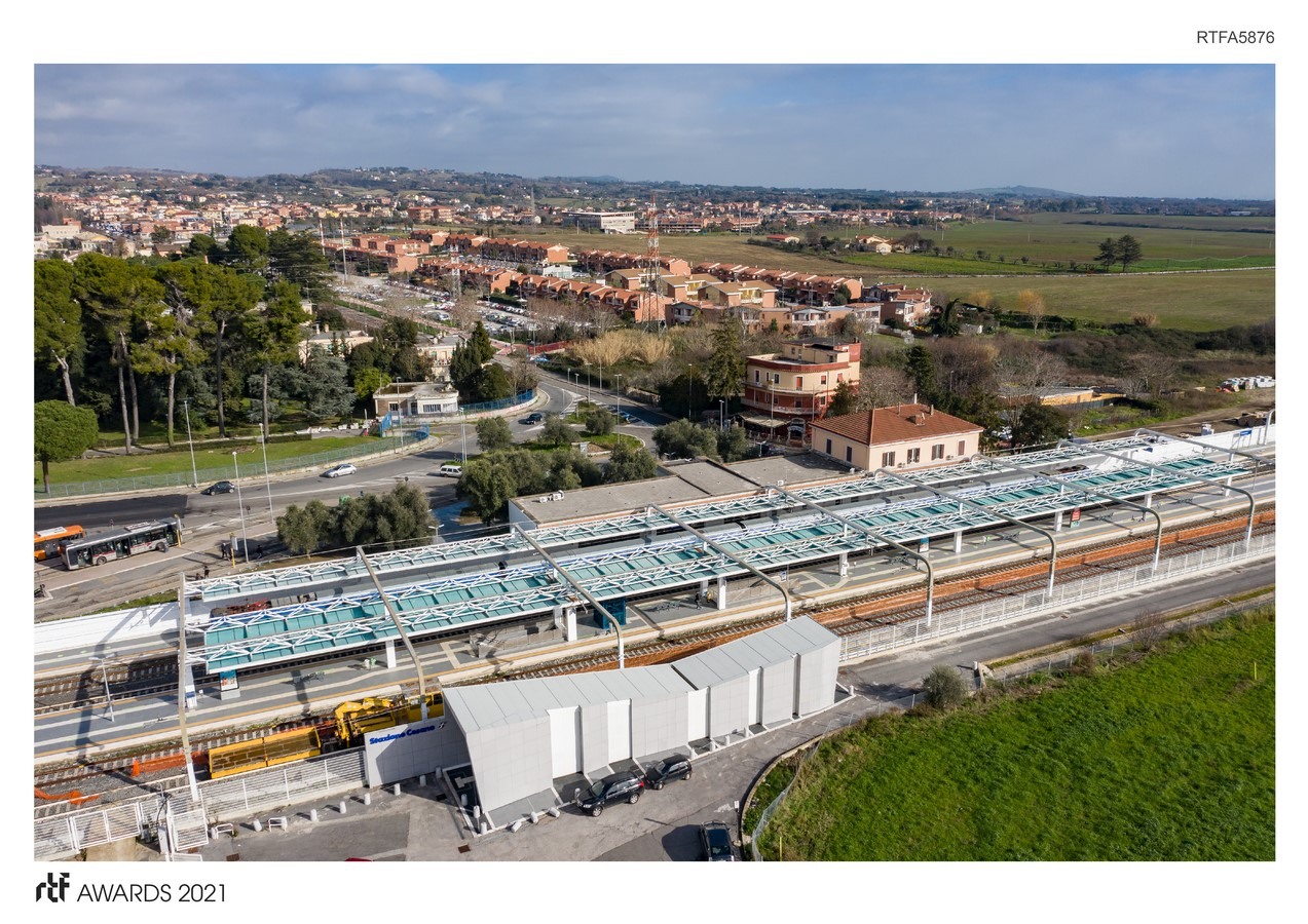 Cesano Railway Station Restyling Project Rome Italy By Alessia Maggio (AMAART Architects) - Sheet1
