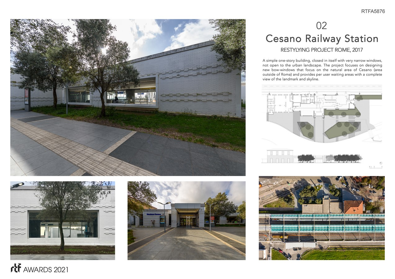 Cesano Railway Station Restyling Project Rome Italy By Alessia Maggio (AMAART Architects) - Sheet2