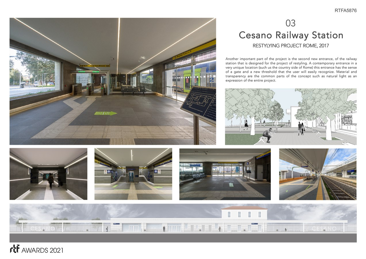 Cesano Railway Station Restyling Project Rome Italy By Alessia Maggio (AMAART Architects) - Sheet4