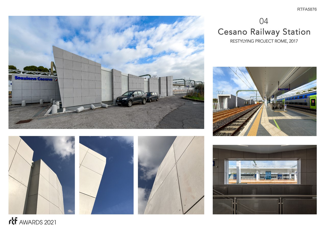 Cesano Railway Station Restyling Project Rome Italy By Alessia Maggio (AMAART Architects) - Sheet5