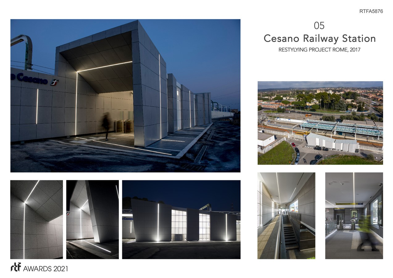 Cesano Railway Station Restyling Project Rome Italy By Alessia Maggio (AMAART Architects) - Sheet6