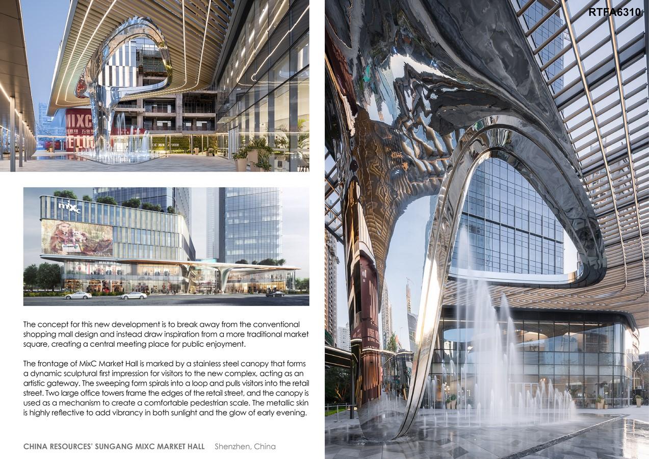 China Resources' Sungang MixC Market Hall By 10 Design - Sheet2