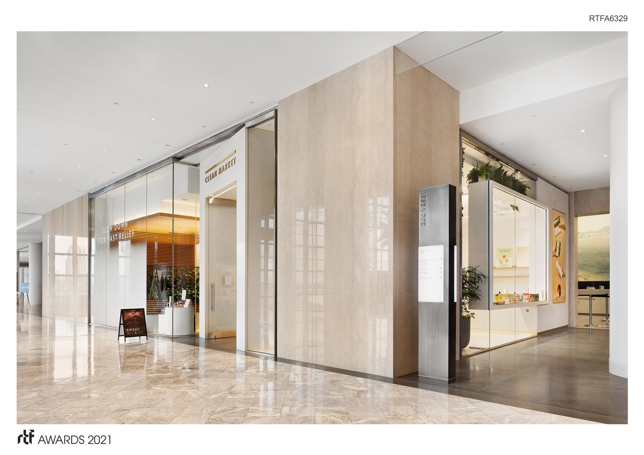 Clean Market Brookfield Place By HEITLER HOUSTOUN ARCHITECTS - Sheet1