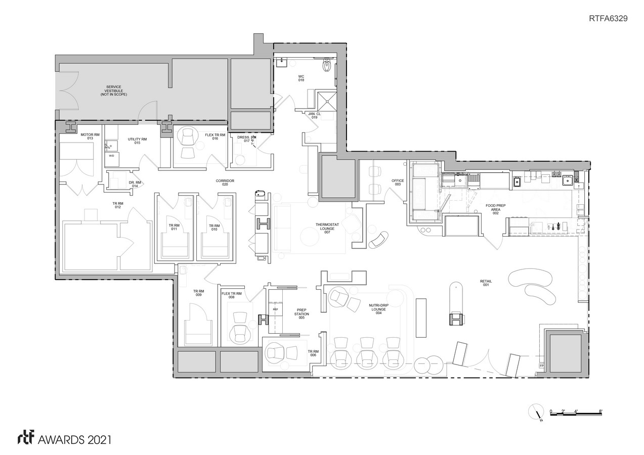 Clean Market Brookfield Place By HEITLER HOUSTOUN ARCHITECTS - Sheet6