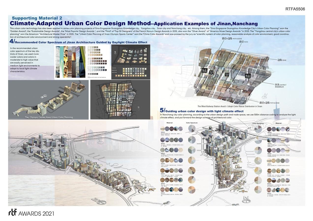 Climate-Adapted Urban Color Design Method By Guangzhou University & Guangzhou Hongyu Architectural Design Co., Ltd - Sheet5