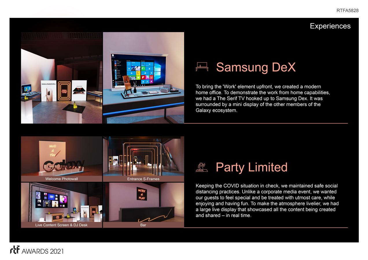 Galaxy Creators Lounge by Cheil MEA - Sheet2