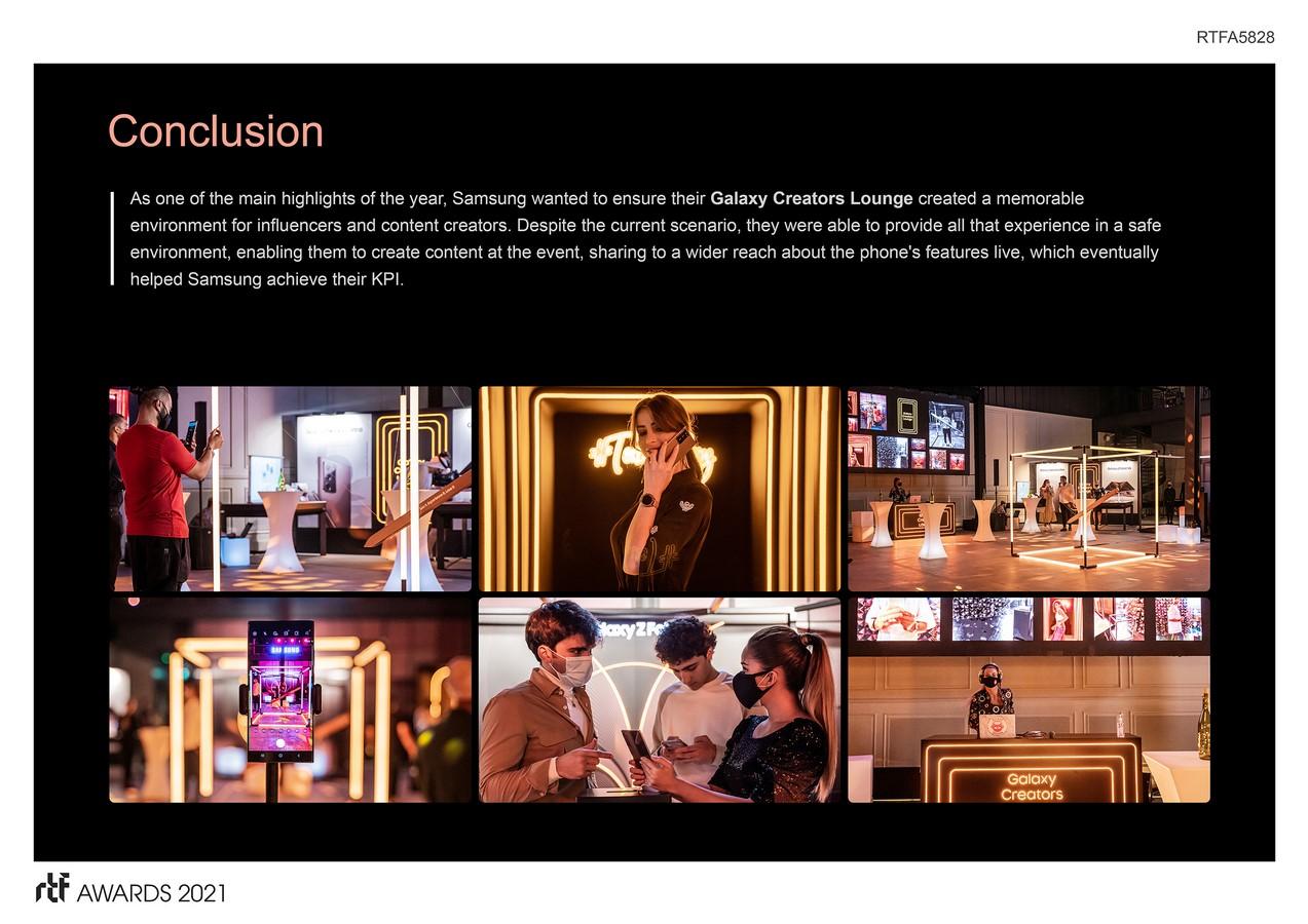 Galaxy Creators Lounge by Cheil MEA - Sheet3