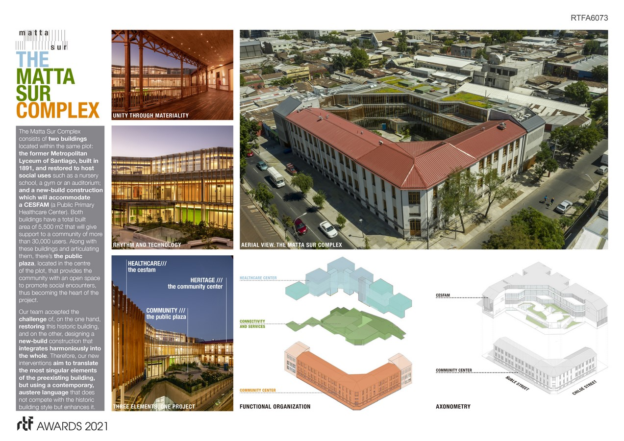 MATTA SUR COMMUNITY CENTER + CESFAM By luis vidal + architects -Sheet3