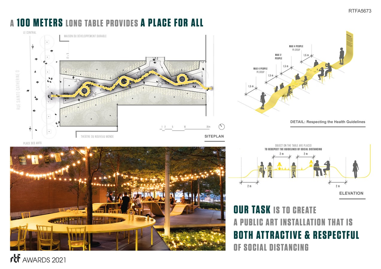 PRENEZ PLACE ! Your Place at the Table By ADHOC Architectes - Sheet5