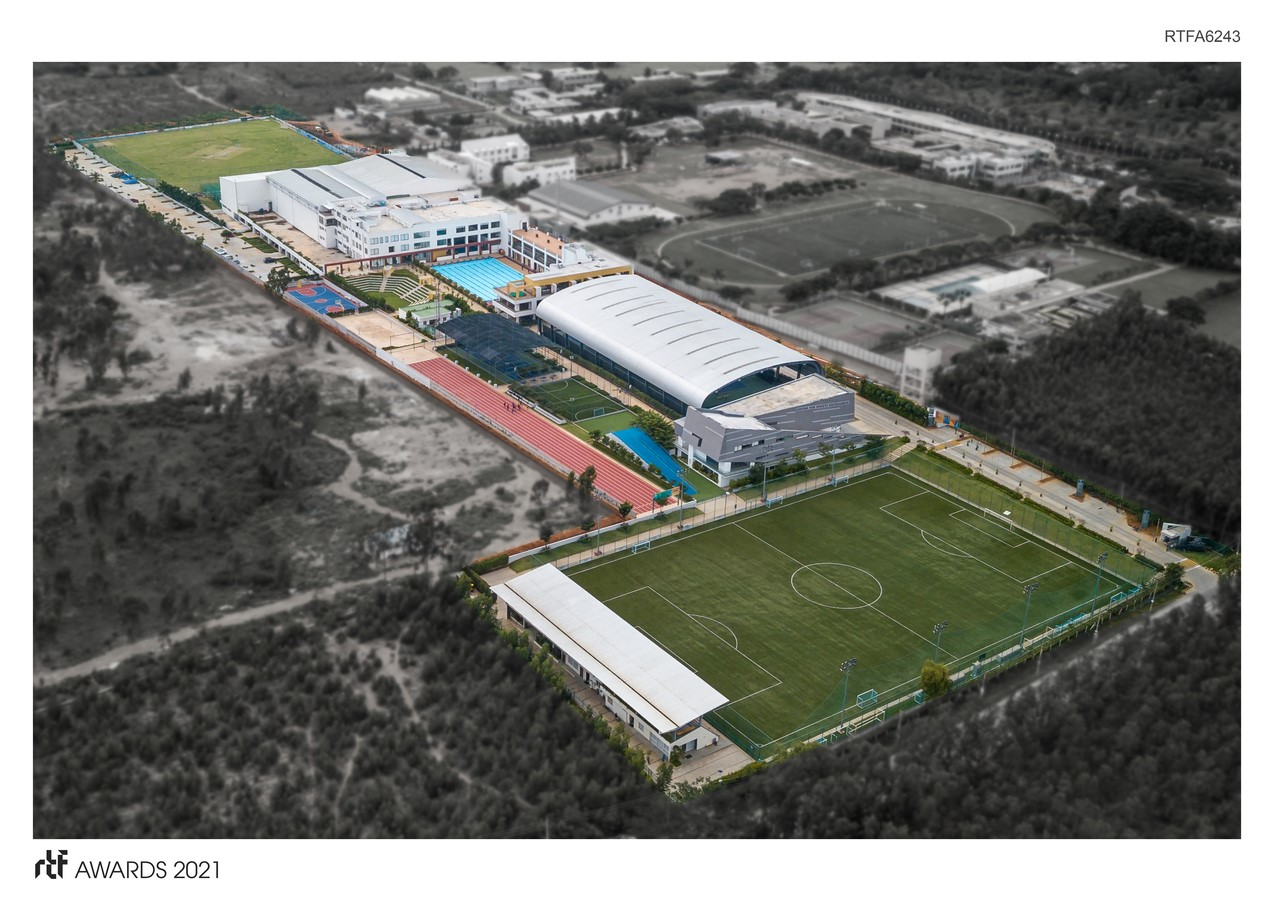 Padukone – Dravid Centre for Sports Excellence By Urban Frame Pvt Ltd - Sheet1
