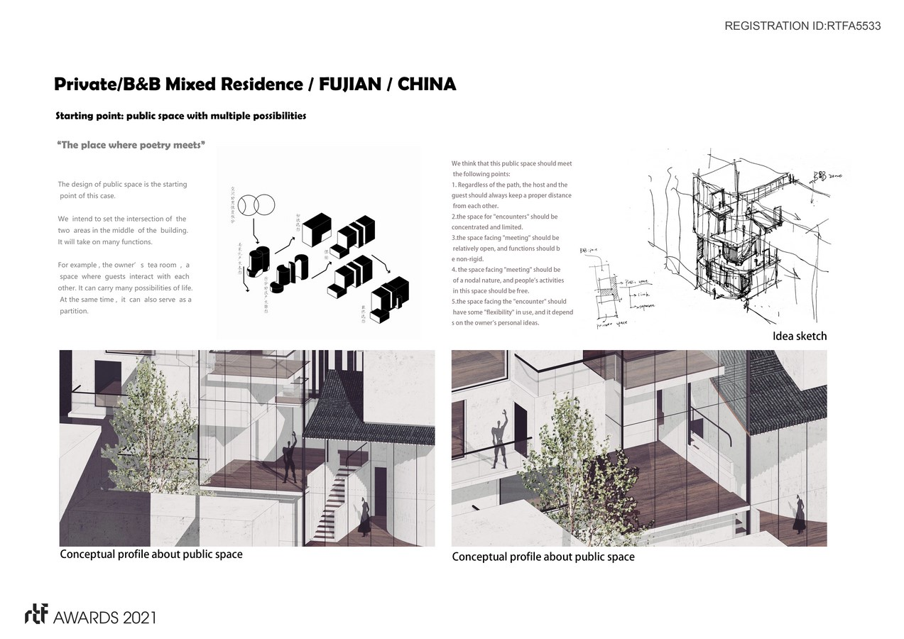 Private Residence/B&B Mixed residence /FuJian/China By SHANGHAI LEIAD STUDIO - Sheet2