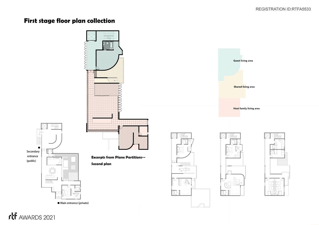 Private Residence/B&B Mixed residence /FuJian/China By SHANGHAI LEIAD STUDIO - Sheet3