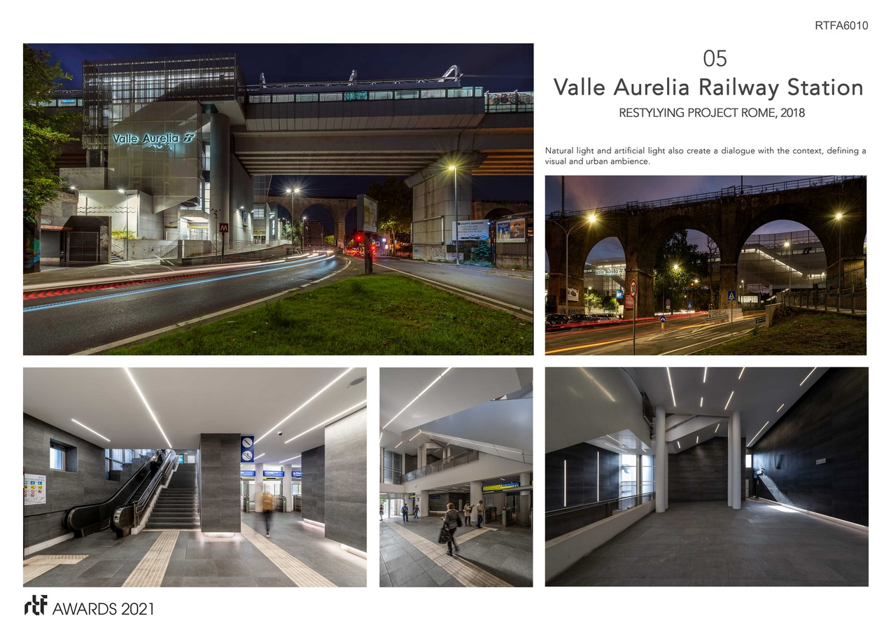 Valle Aurelia Restyling Station Project By Alessia Maggio (AMAART Architects) - Sheet6