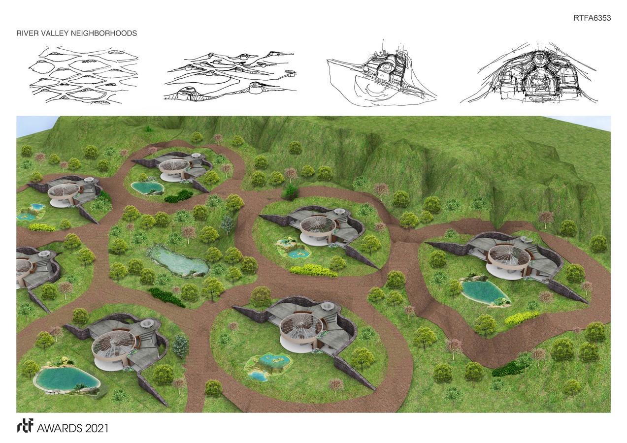 River Valley Houses + Villages By Ben Rosenblum Studio - Sheet3