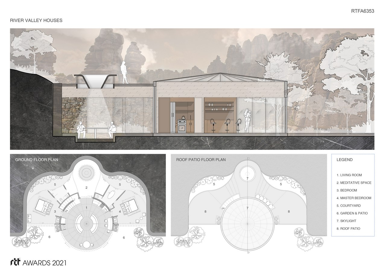 River Valley Houses + Villages By Ben Rosenblum Studio - Sheet4