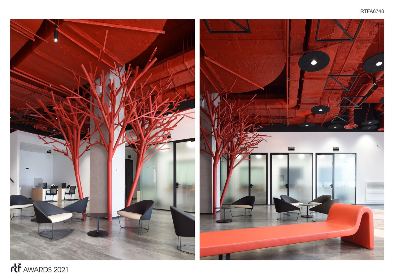 Rosbank Headquarters (Societe Generale Group) By UNK corporate interiors - Sheet6