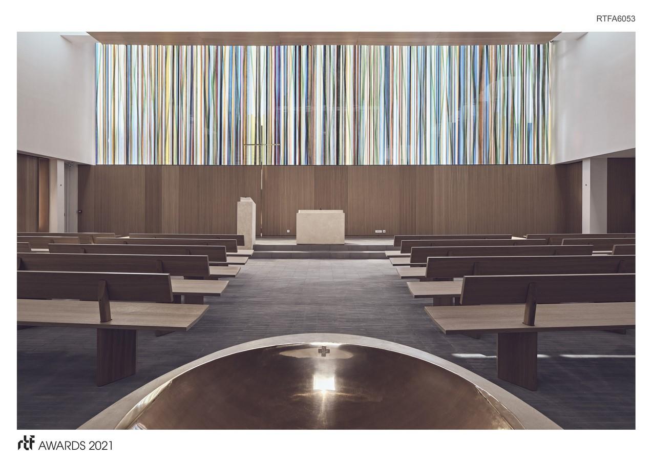 Saint Joseph church By Enia architectes - Sheet1