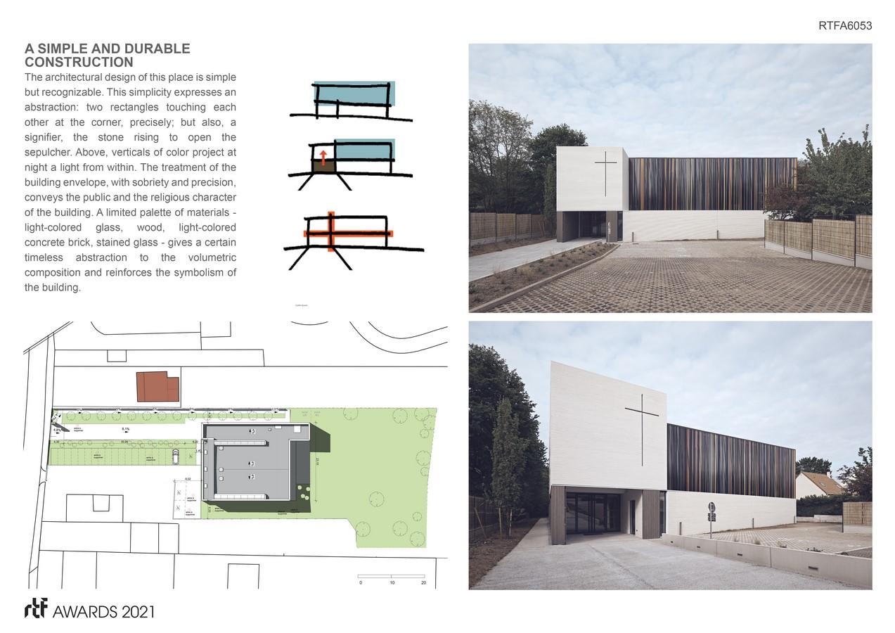 Saint Joseph church By Enia architectes - Sheet2