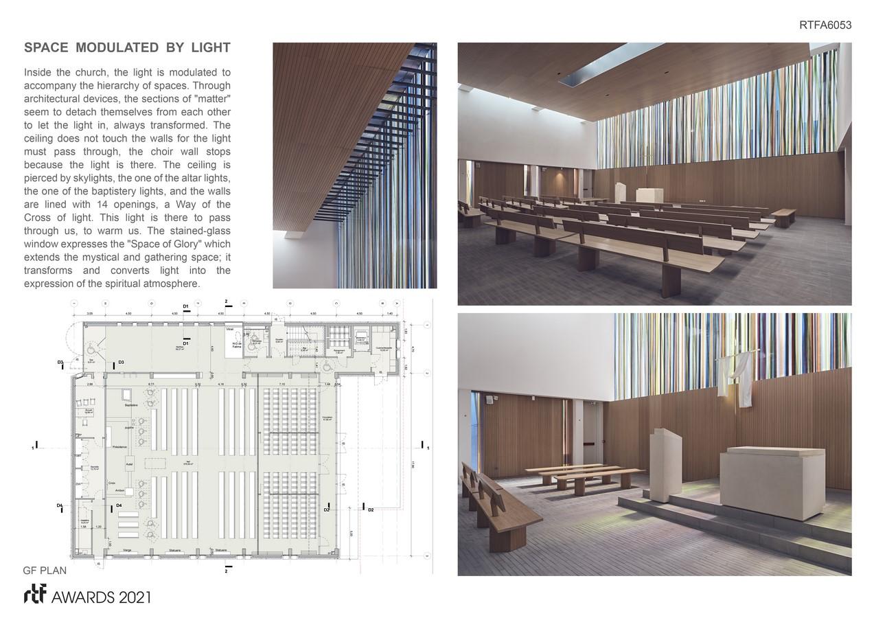 Saint Joseph church By Enia architectes - Sheet3