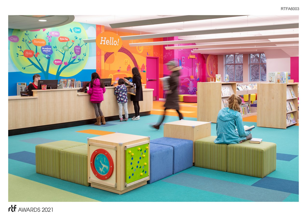 Thayer Children's Library By Arrowstreet Inc. - Sheet1
