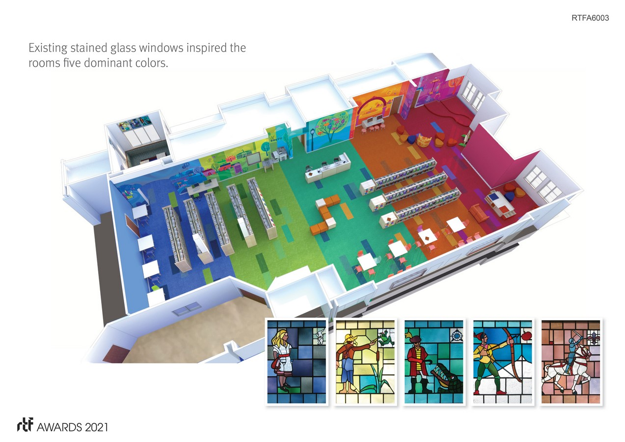 Thayer Children's Library By Arrowstreet Inc. - Sheet5