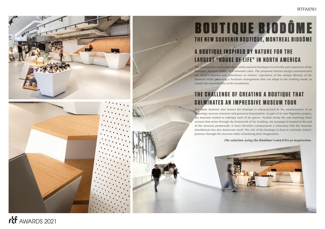 The Biodôme Boutique By ADHOC Architectes +MESSIER designers - Sheet1