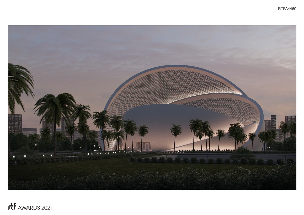 The Iconic Mosque By Studio Bassal - Sheet1