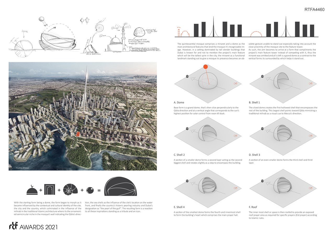 The Iconic Mosque By Studio Bassal - Sheet2