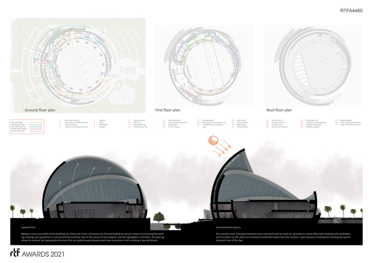 The Iconic Mosque By Studio Bassal - Sheet3