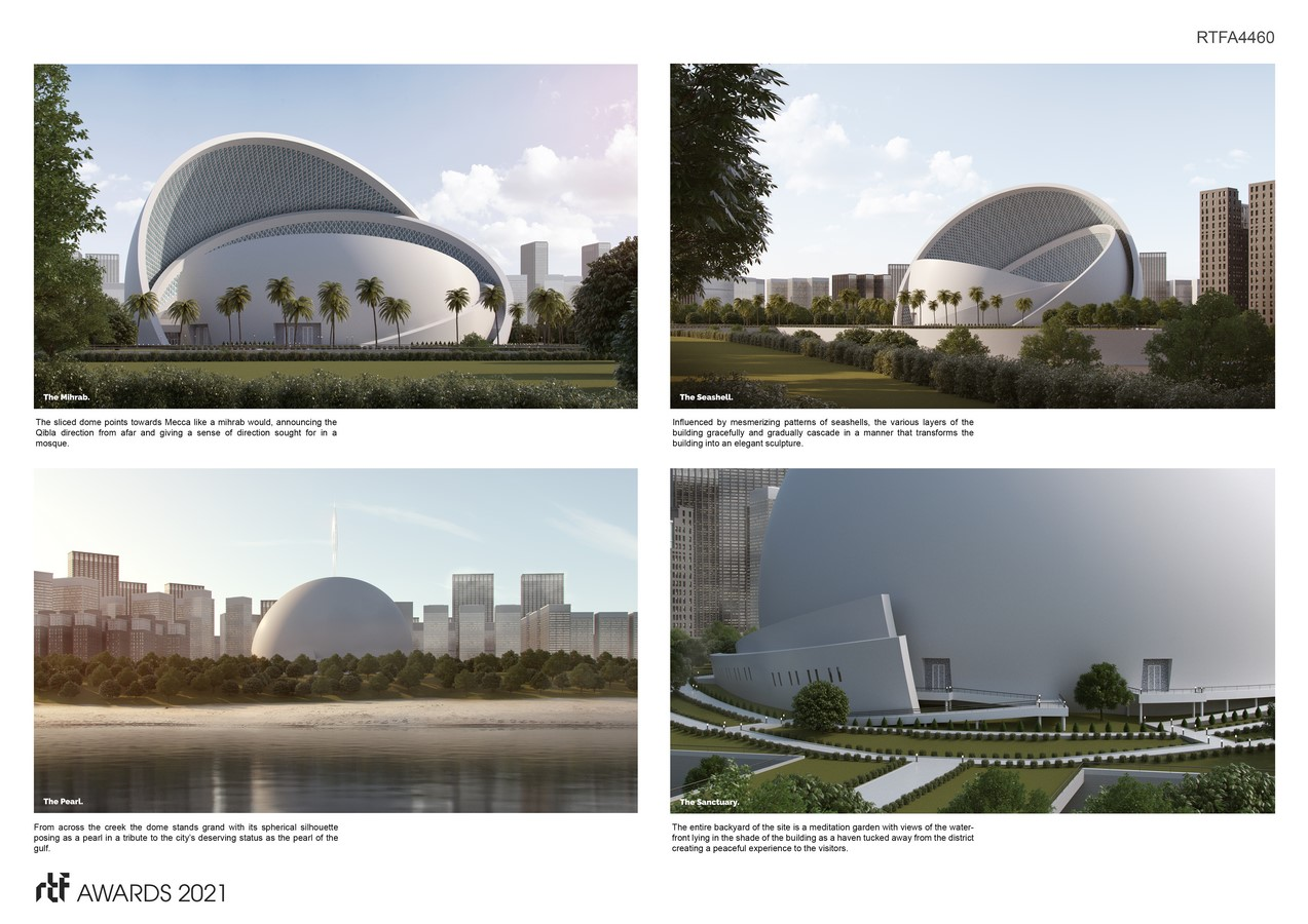 The Iconic Mosque By Studio Bassal - Sheet4