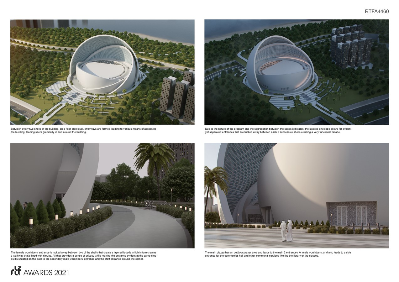 The Iconic Mosque By Studio Bassal - Sheet5