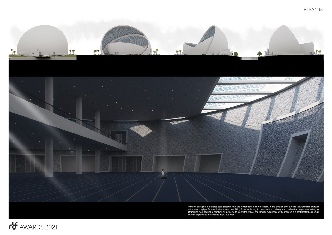 The Iconic Mosque By Studio Bassal - Sheet6