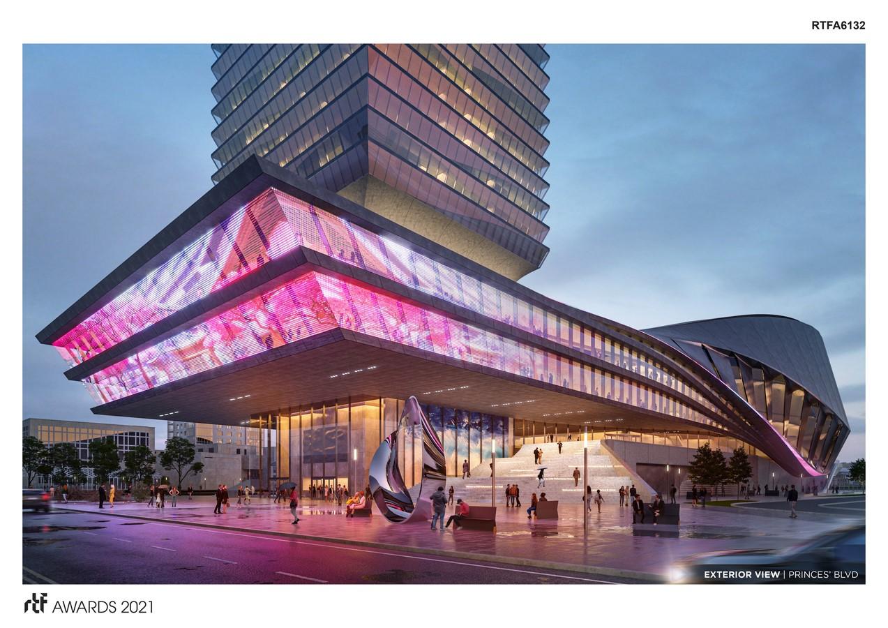 Toronto Performance Venue + Hotel By Populous - Sheet4