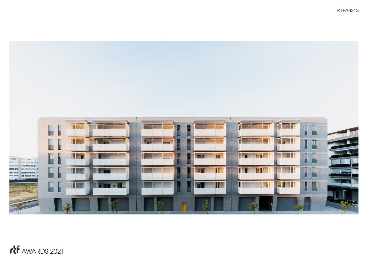 Viale Giulini Affordable Housing By Alvisi Kirimoto - Sheet1