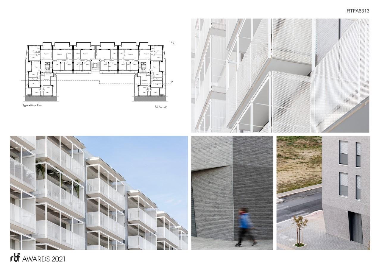 Viale Giulini Affordable Housing By Alvisi Kirimoto - Sheet3