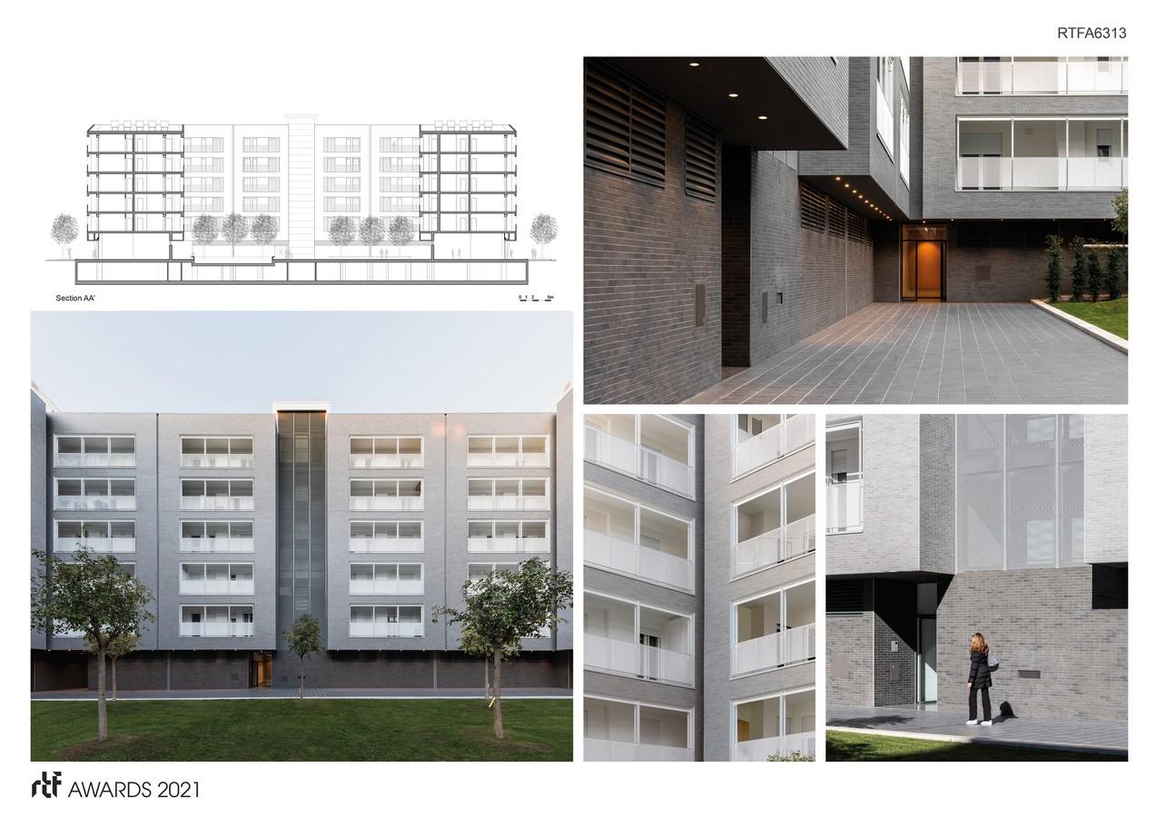 Viale Giulini Affordable Housing By Alvisi Kirimoto - Sheet4