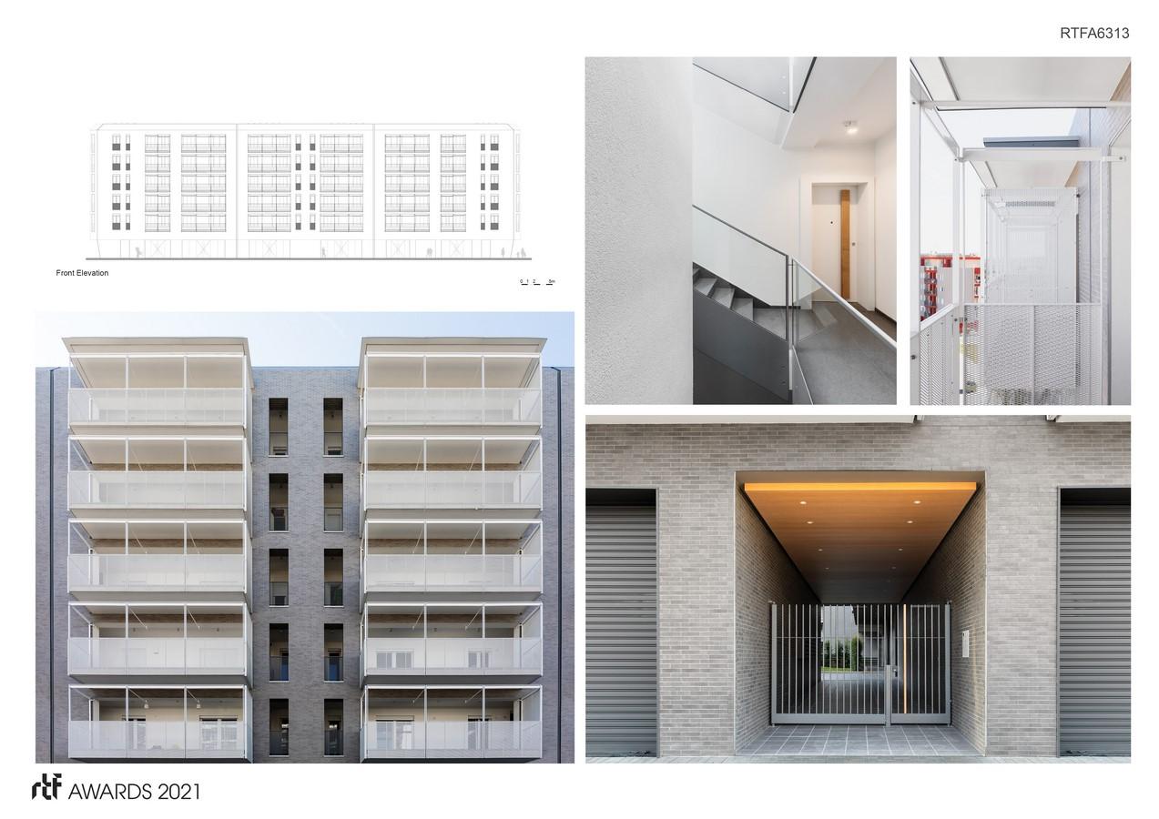 Viale Giulini Affordable Housing By Alvisi Kirimoto - Sheet5