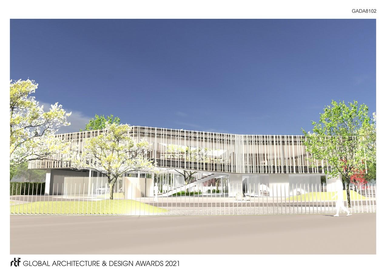 Company Building in Guyancourt - Sheet1
