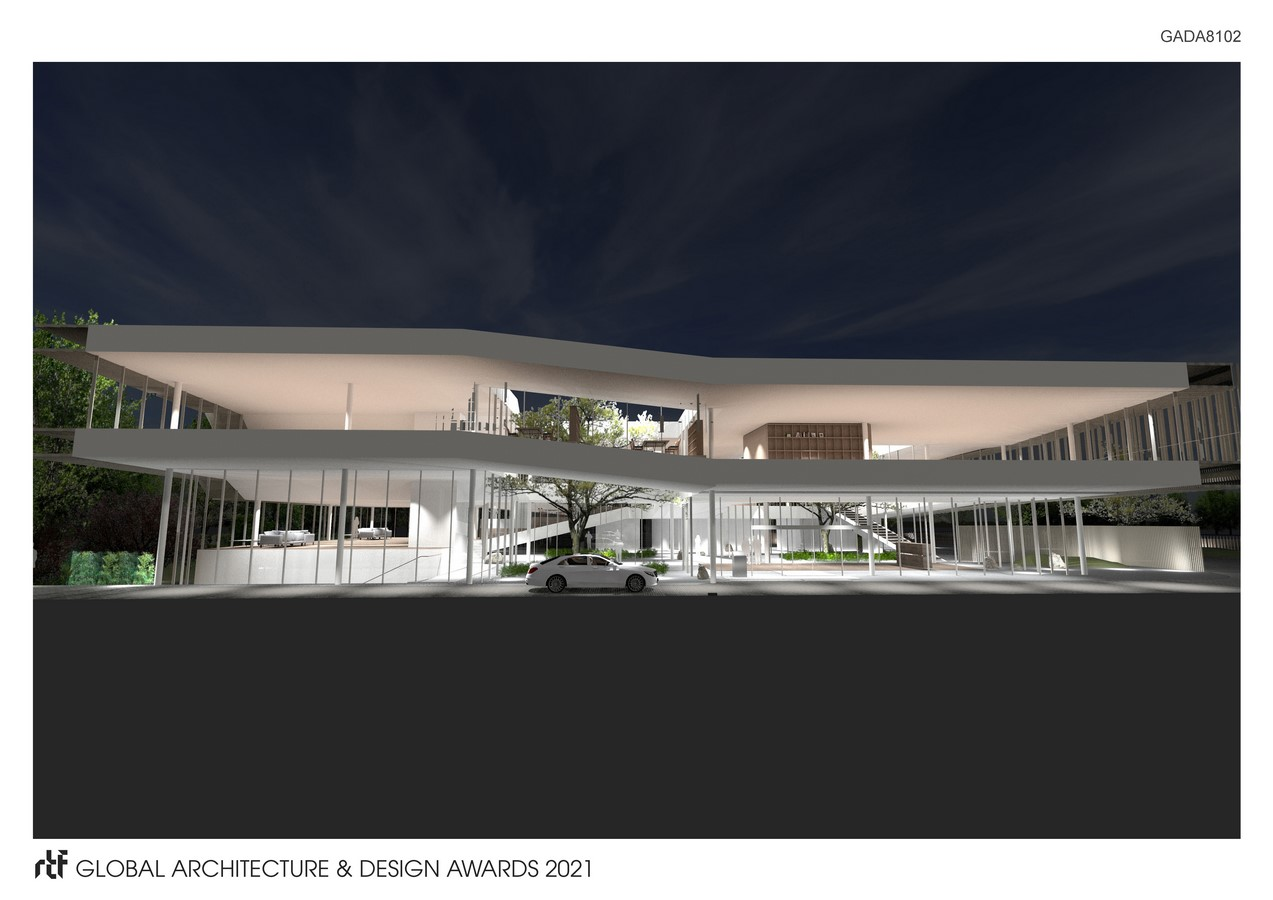 Company Building in Guyancourt - Sheet4