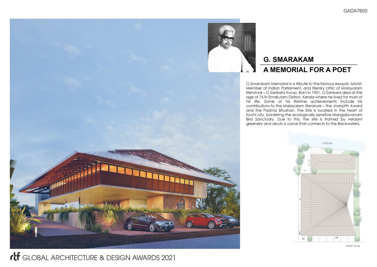 G. Smarakam - A Memorial for a Poet | Fahed + Architects - Sheet2