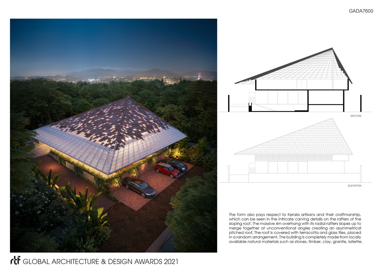 G. Smarakam - A Memorial for a Poet | Fahed + Architects - Sheet4
