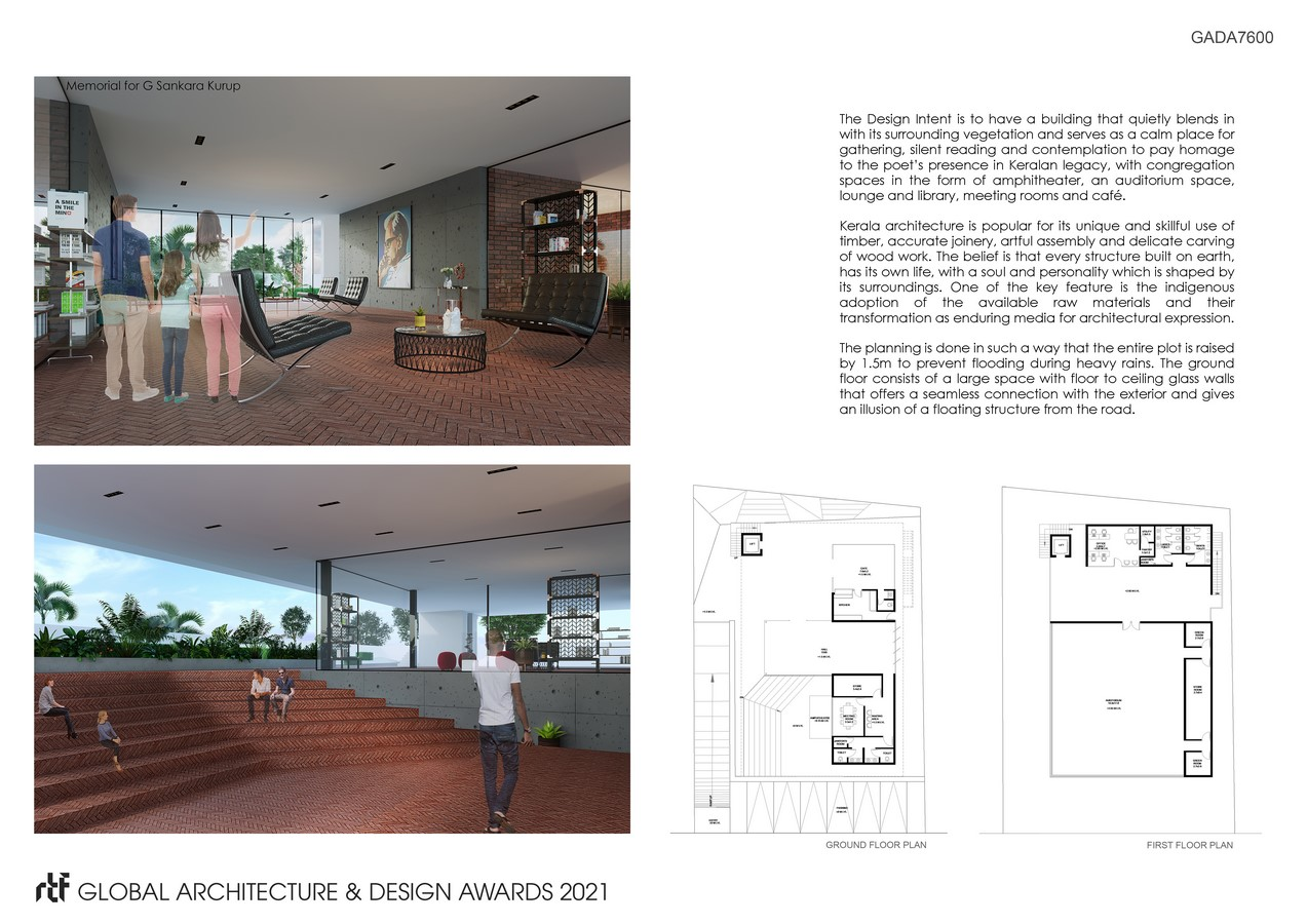 G. Smarakam - A Memorial for a Poet | Fahed + Architects - Sheet5