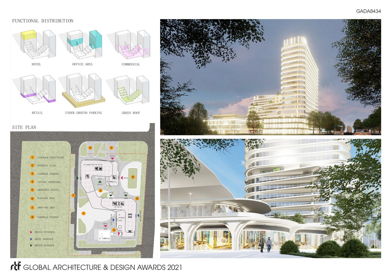 Hengshui Innvovation And Entrepreneurship Building , Binhu New District   China Construction Engineering Desiign Group Corporation Limited - Sheet